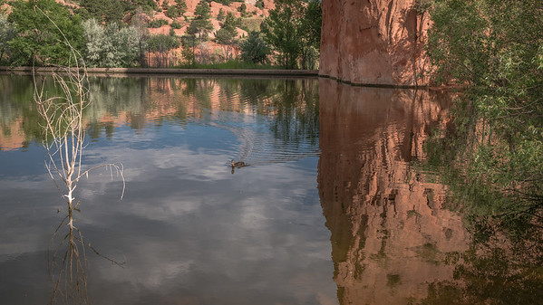Red Rock Canyon Open Space - Lonely Duck