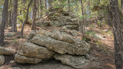 Spruce Mountain - Rock Formations-08642