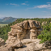 Spruce Mountain - Pikes Peak in the Distance-08665