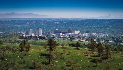 Colorado Springs ~ Downtown Skyline