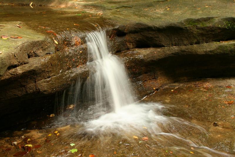 The pretty cascade that pours into Giant's Bathtub...
