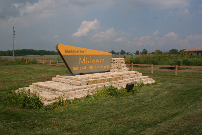The visitor center had a number of interesting displays concerning the history of the current property and the unfortunate demise of the tallgrass prairie in Illinois and the Midwest as a whole...