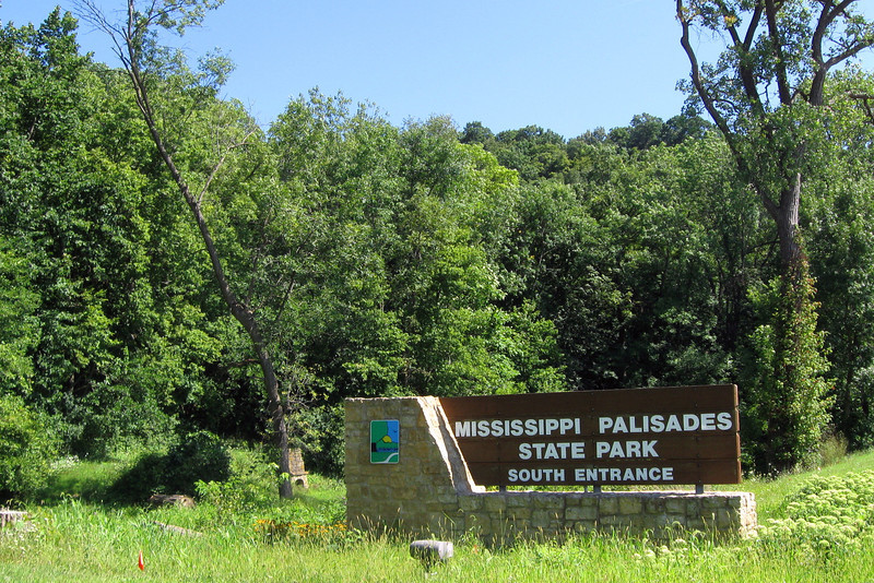 Mississippi Palisades State Park - South Entrance
