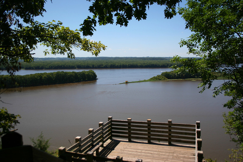 Mississippi Palisades - Lookout Point