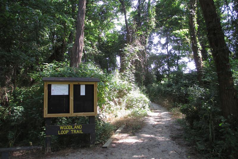 Woodland Loop Trailhead