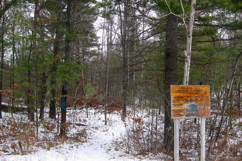 Big Bear Lake Nature Pathway Trailhead