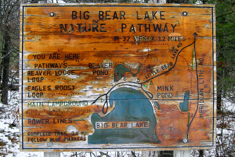 Big Bear Lake Nature Pathway Trailhead