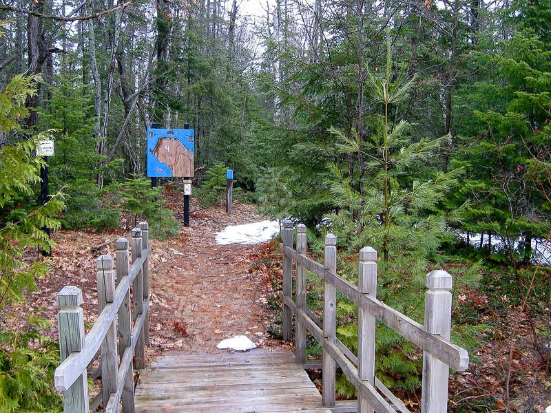 Blue Trail Trailhead