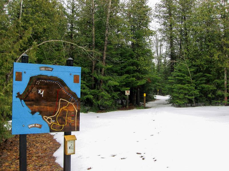 Yellow Trail Trailhead