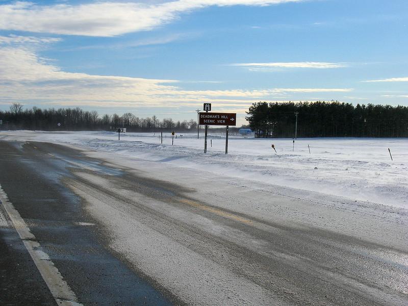 US Highway 131-Deadman's Hill Road Junction