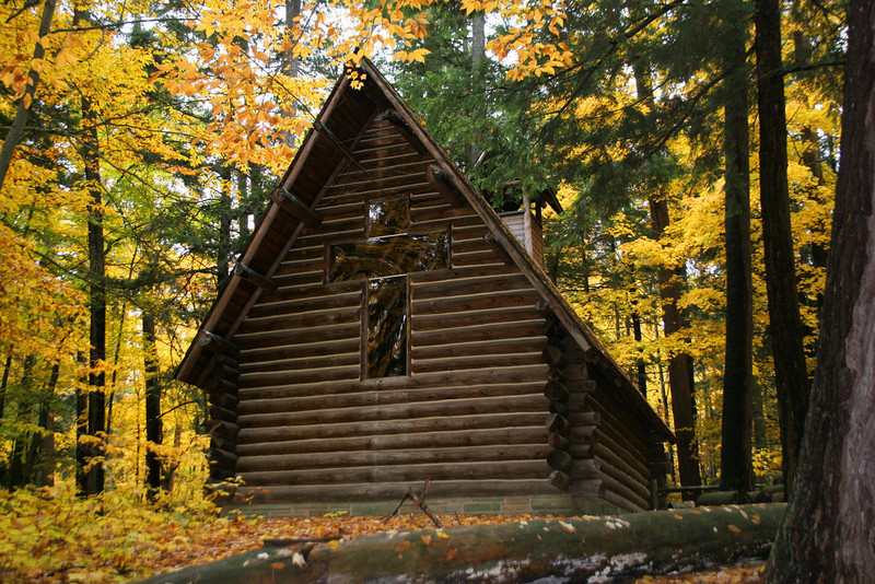 Chapel in the woods...