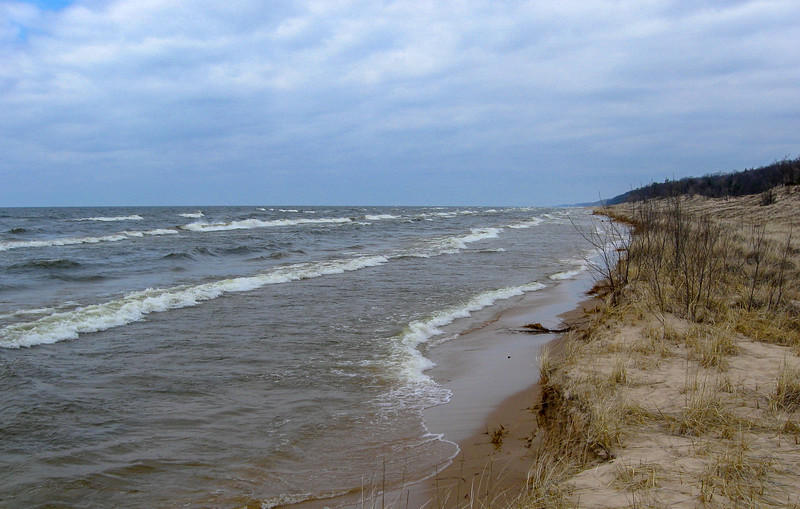 Lake Michigan Beach Walk