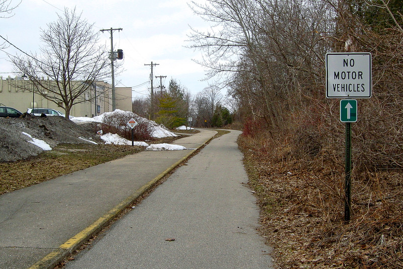 One of the uglier stretches of trail in town...
