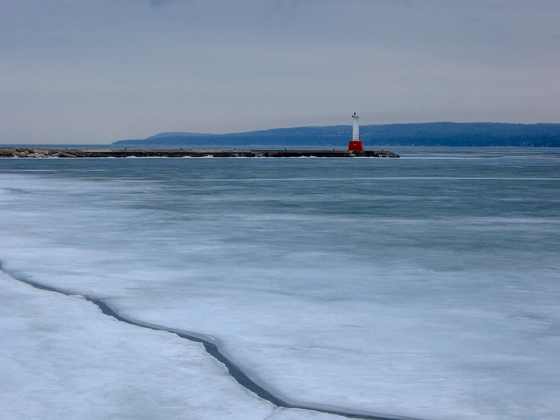 "In my opinion the Petoskey Lighthouse has to be ""the ugliest lighthouse with the nicest view"" in Michigan..."
