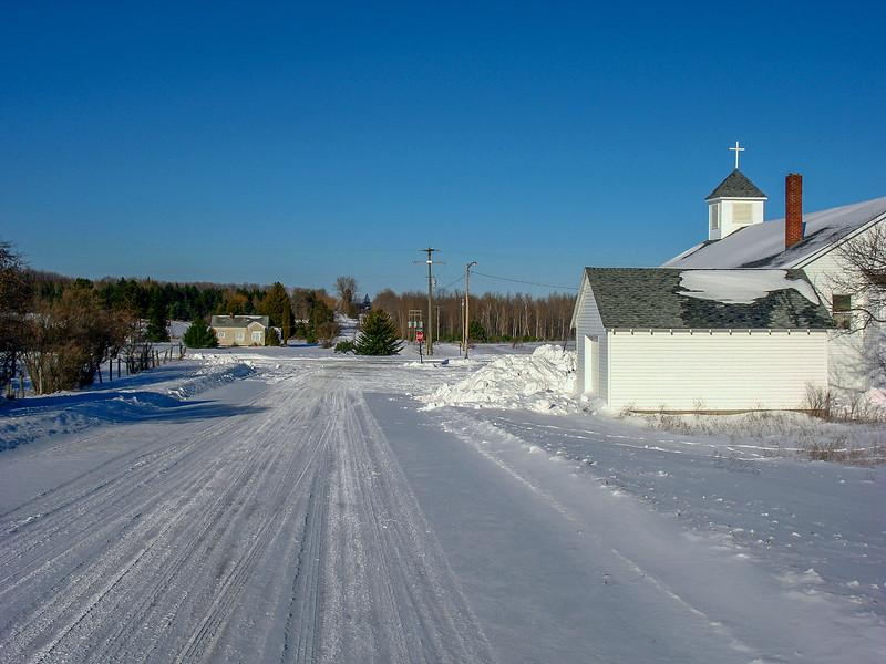 Approaching Zulski Road...