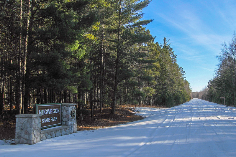 Negwegon State Park Entrance