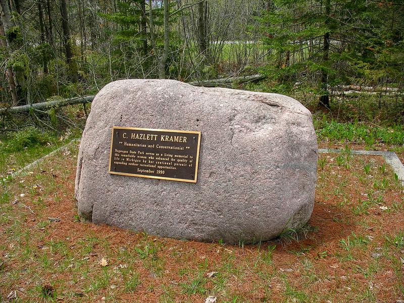 Kramer Memorial Rock
