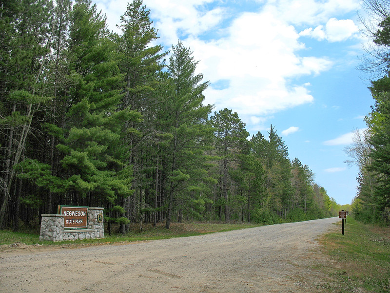 Negwegon State Park Entrance