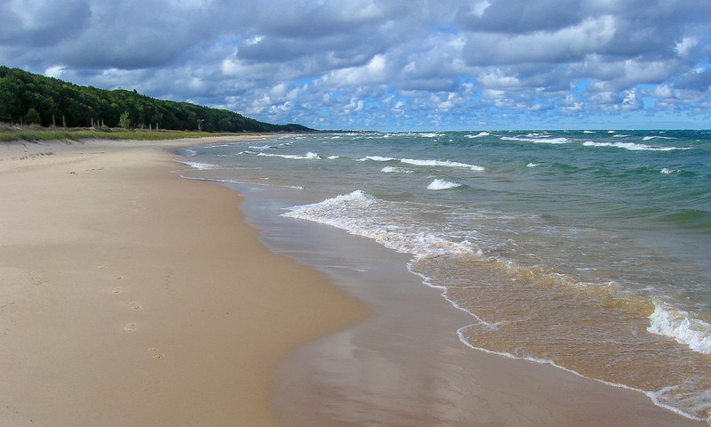 Lake Michigan Beach Walk