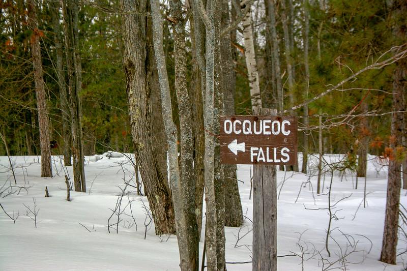 Ocqueoc Falls Trailhead