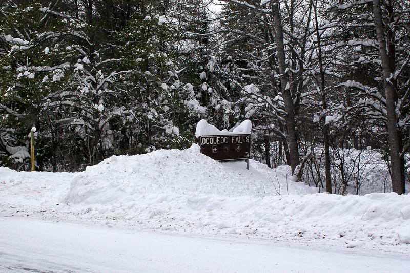 Ocqueoc Falls Scenic Site Entrance