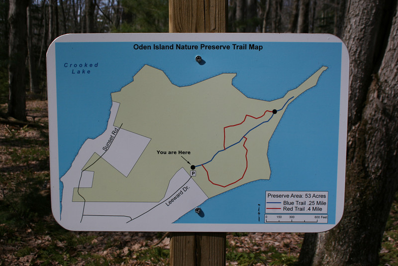 Oden Island Nature Preserve Trailhead
