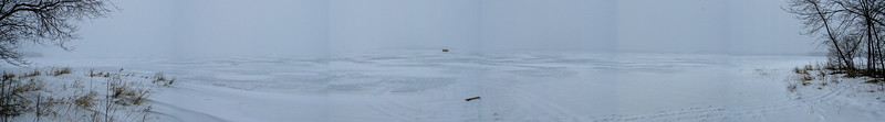 The snowy panorama from Rocky Point...