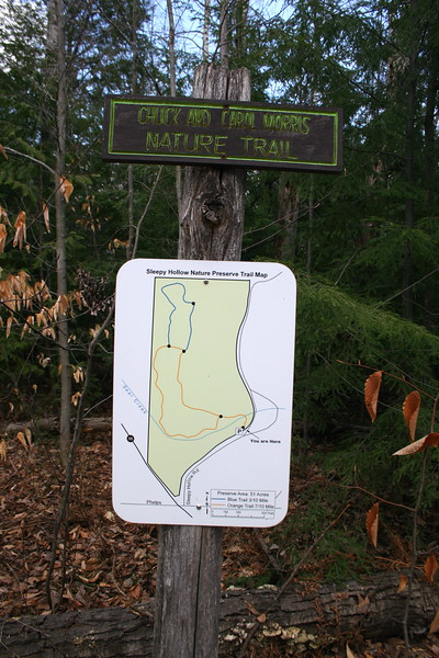 Sleepy Hollow Nature Preserve Trailhead