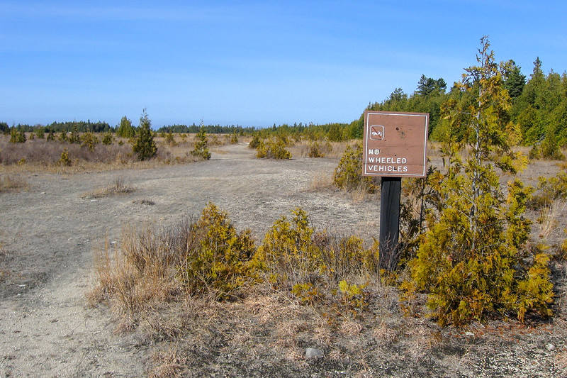 "Wagoshance Point ""Trailhead"""