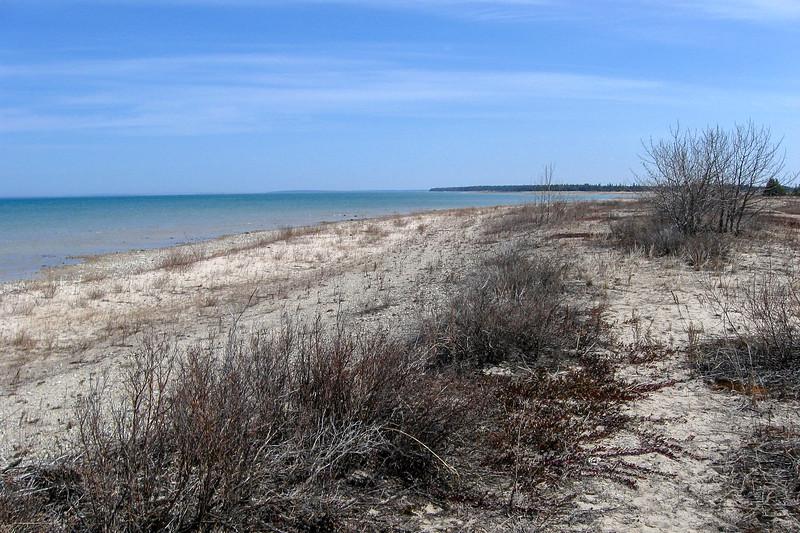Wagoshance Point North Shore Route