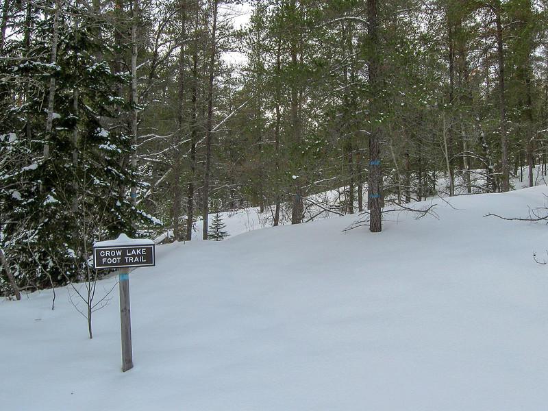 Crow Lake Pathway Trailhead