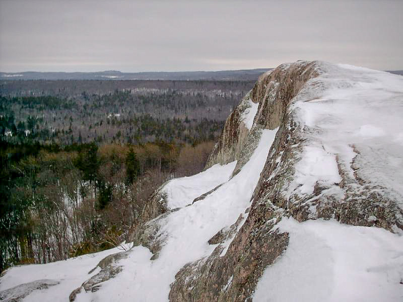 <b>Hogback Mountain Summit</b> - The summit rocks of Hogback Mountain.