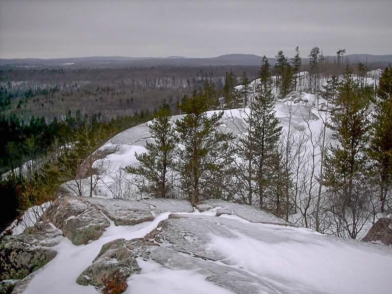 Hogback Summit Ridge