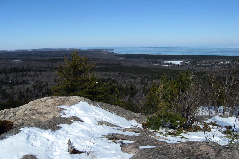 Hogback Mountain Summit - 1,220'