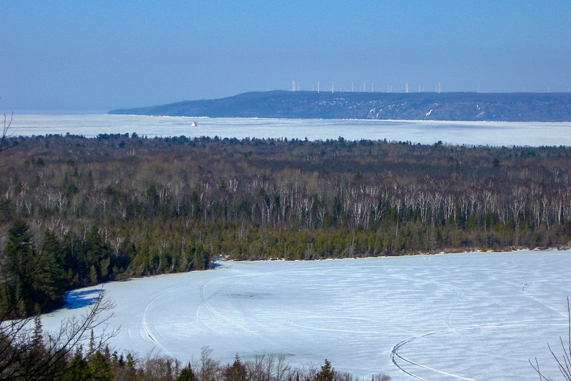 Mission Hill-Spectacle Lake, Chippewa County (3-8-10)