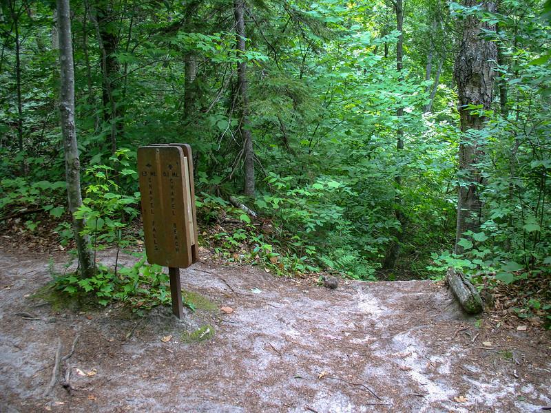 Lakeshore-Chapel Loop Trail Junction