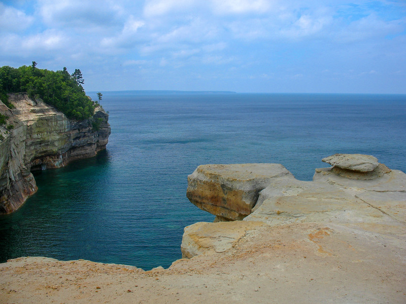 Pictured Rocks, Alger County - Chapel Loop (7-10-07)