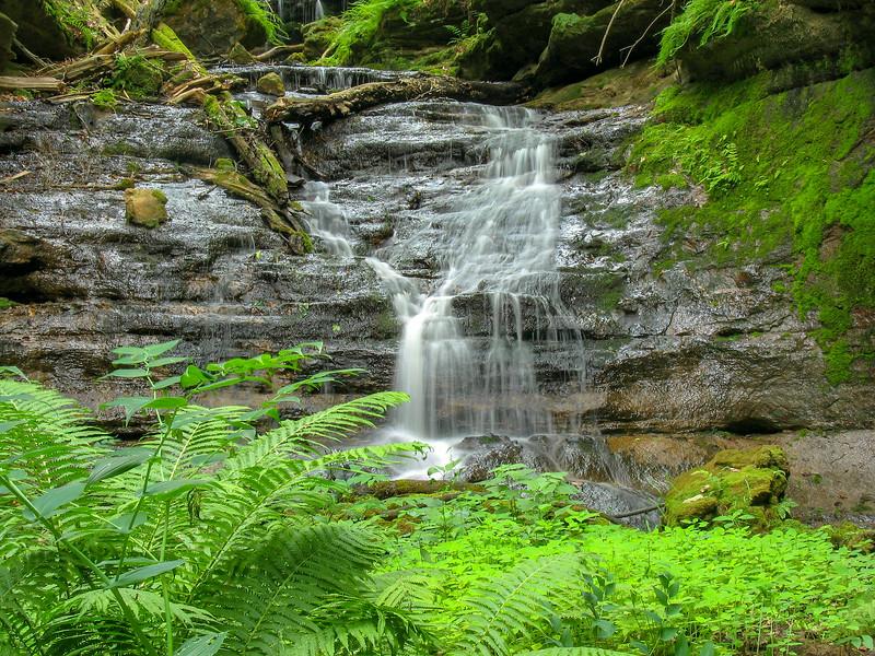 Unnamed Falls on Chapel Creek