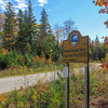 The entrance to the preserve is at the east end of a small subdivision so the road in is quite well kept...