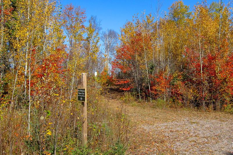 Round Island Point Nature Preserve Trailhead
