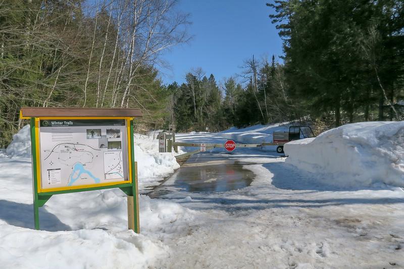 Lower Falls Winter Trailhead