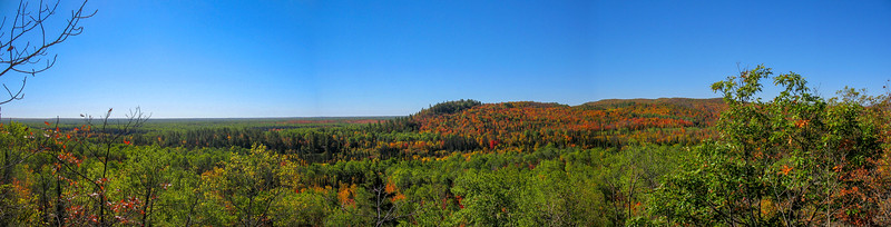 Trap Hills Panorama