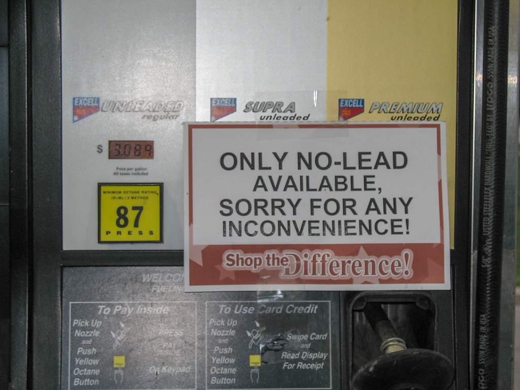 1980's Flashback......but we do have pay-at-the-pump!