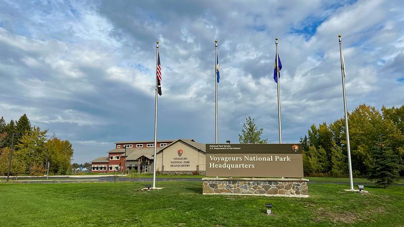 Voyageurs National Park Headquarters