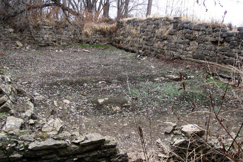 Athens Mill Ruins