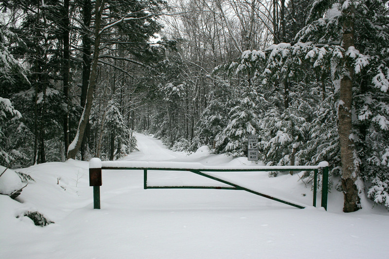Timm's Hill County Park Entrance Road