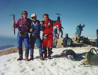 Summit of Mount Baker.
