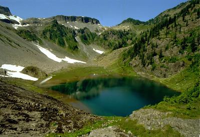 Bagley Lake, Mount Baker.
