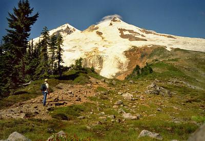 Mount Baker from Boulder Ridge trail