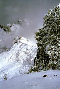 Near the summit of Mount Dickerman